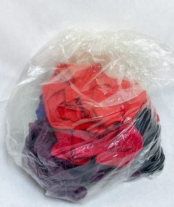 Infection Control Water Soluble Laundry Bags